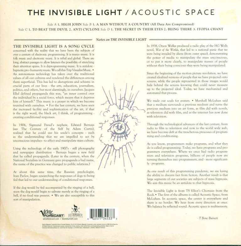 the invisible light